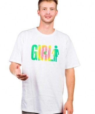 camiseta skate girl big girl w