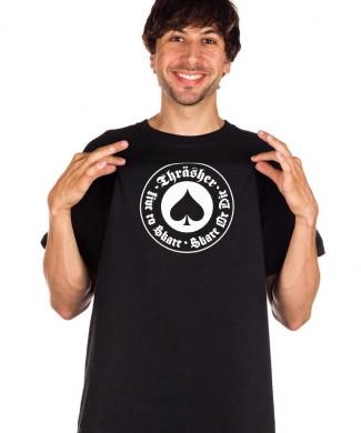 camiseta skate trasher oath t shirt