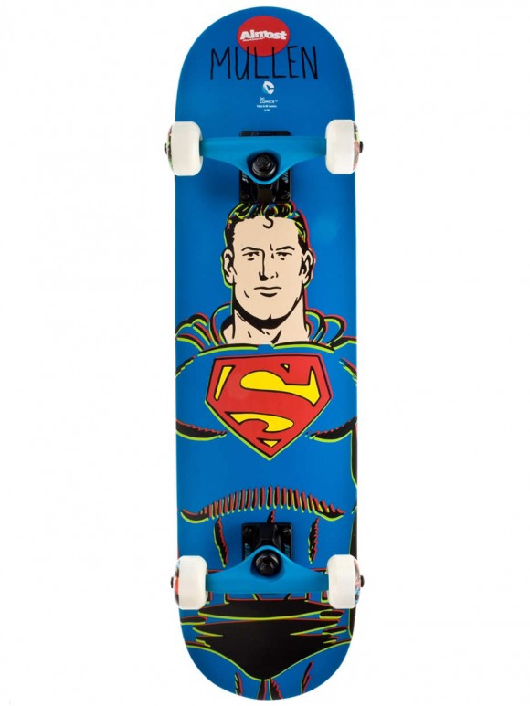 skate completo almost mullen superman
