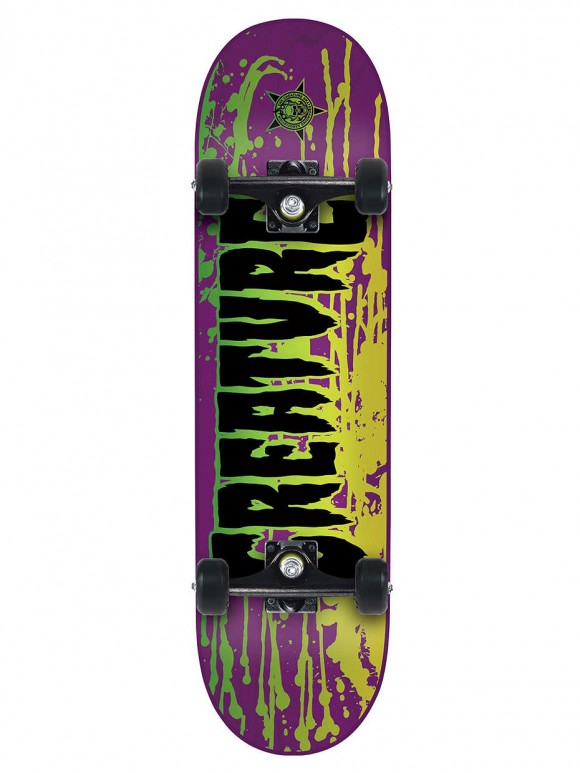 skate completo creature reverse stain