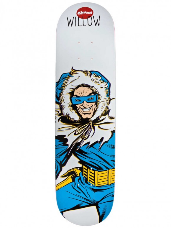 tabla almost skate willow captain cold