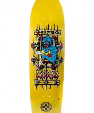 tabla skate john lucero beer savage
