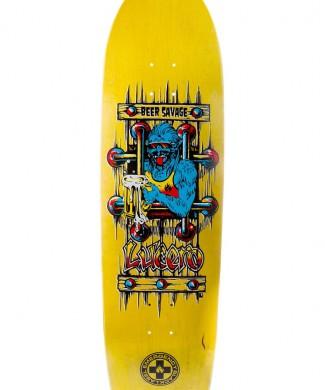 tabla skate john lucero beer savage