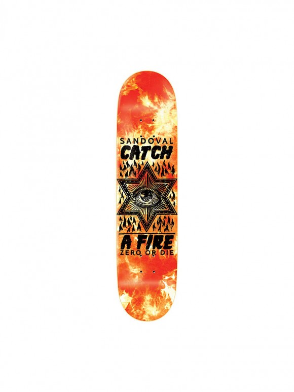 tabla skate sandoval catch a fire