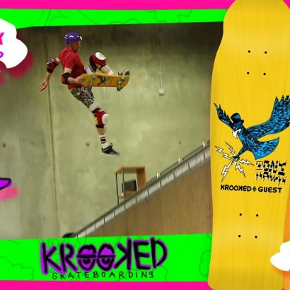 TONY HAWK KROOKED SKATEBOARDS COLLABORATION