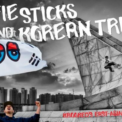 Krookeds Selfie Sticks and Korean