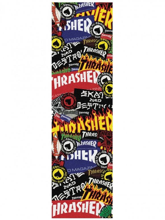 lija skate thrasher sticker
