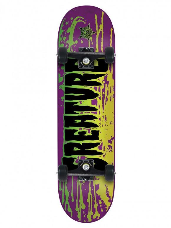 skate completo creature reverse stain