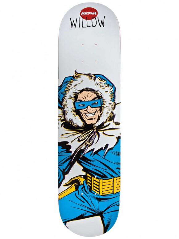 tabla almost skate willow captain cold