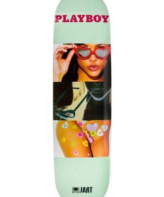 tabla skate jart playboy art hc